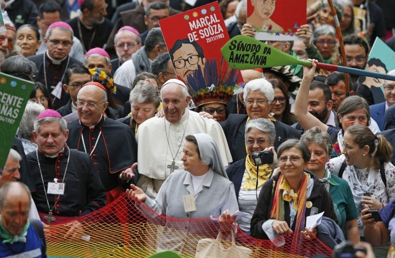 Pope-at-beginning-of-Amazon-Synod